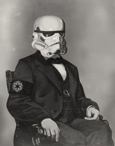 Mike Mitchell.: Old Schools, Abraham Lincoln, Storm Troopers, Geek Art, Storms Troopers, Like A Sir, Self Portraits, Stars War Art, Starwars
