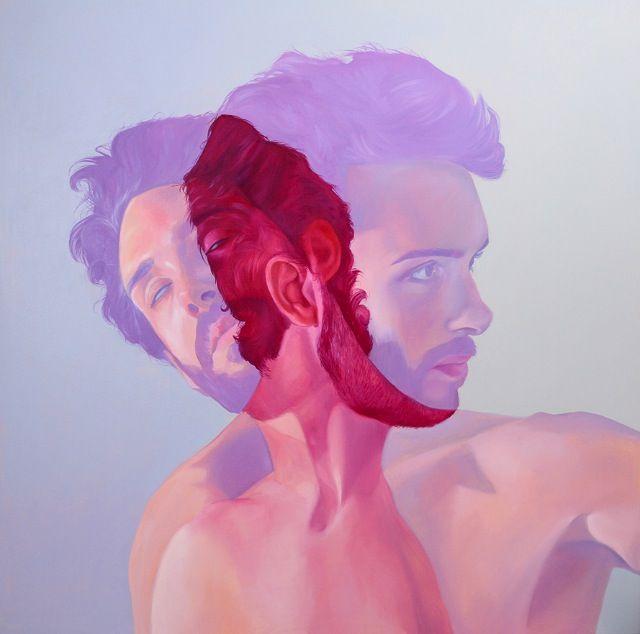 Jen Mann; paint on canvas