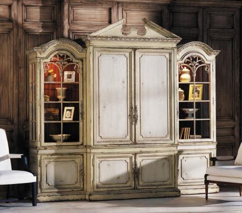 Habersham plaza collection 18th century three piece media for Habersham cabinets cost