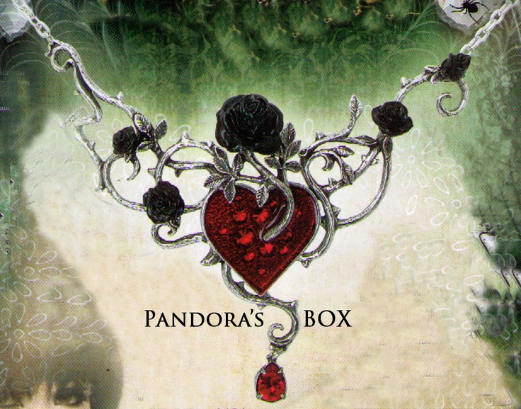 Love can be a bed of roses...or a crown of thorns. With matching ring and earrings at www.pandorasbox.net.au
