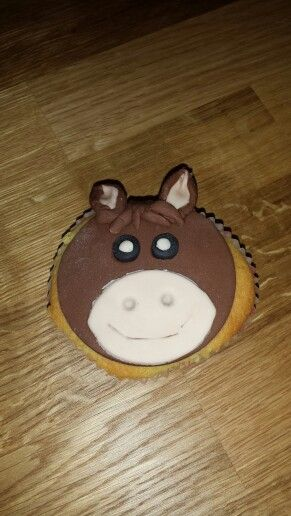 Cupcake paard