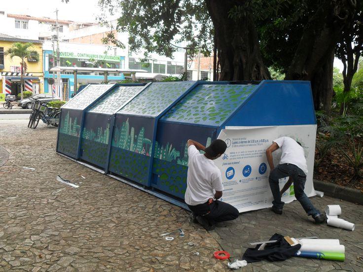 Instalación para el SITVA // An Installation for the SITVA