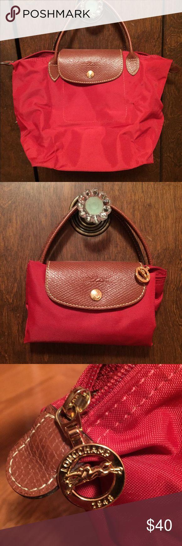 Limited Portable Longchamp Le Pliage Messenger Bags Chocolate