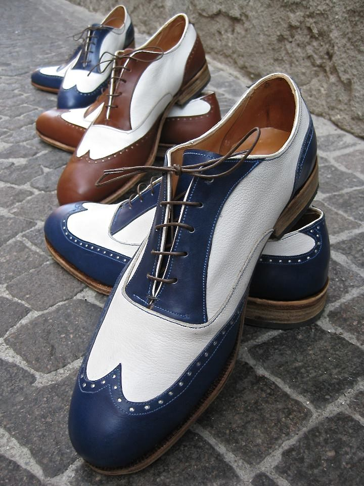 Federico Badia: Two Tone Semi Brogue