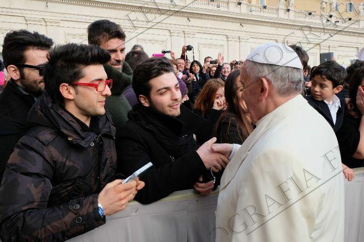 un Gran Honor Conocer al Papa Francisco