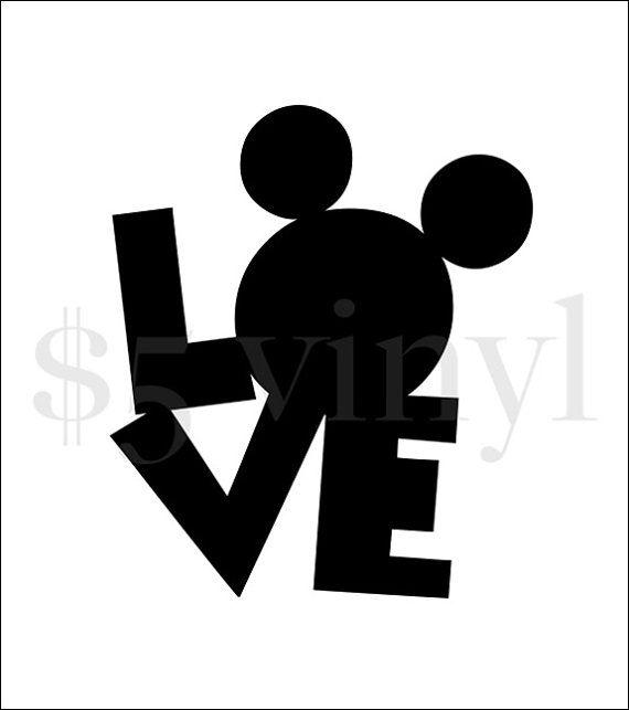 Best LOVE Decals By FiveDollarVinyl Images On Pinterest Small - Disney custom vinyl stickers