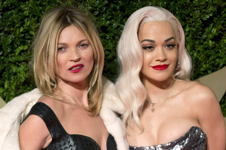 Kate Moss y Rita Ora