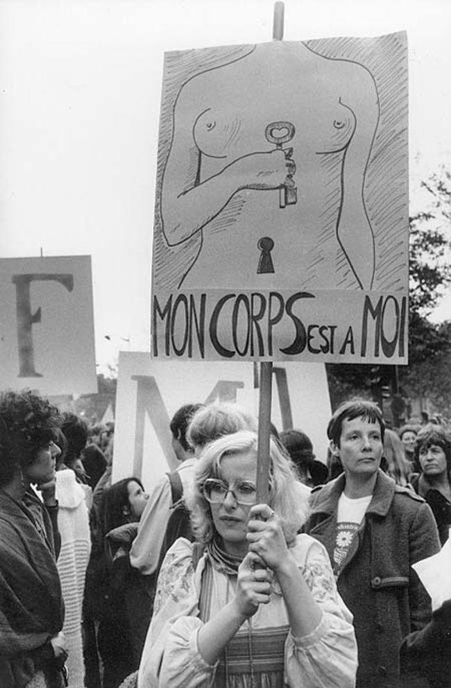 MLF - Marche pour le droit à l'avortement