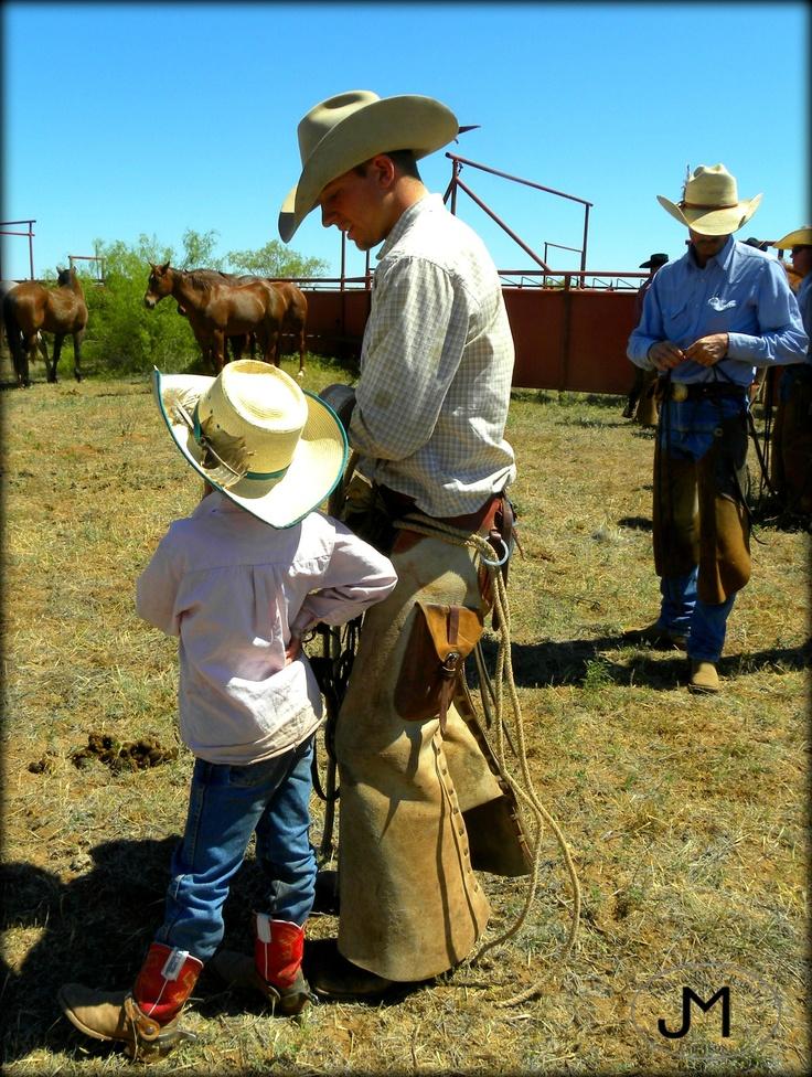 Cowboys - Kids on the Ranch - Spring - Tongue River Ranch
