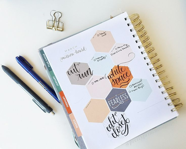 Today I share my Bullet Journal set up for March - inside of an Inkwell Press planner! See how you can use the structured planners to bullet journal too.