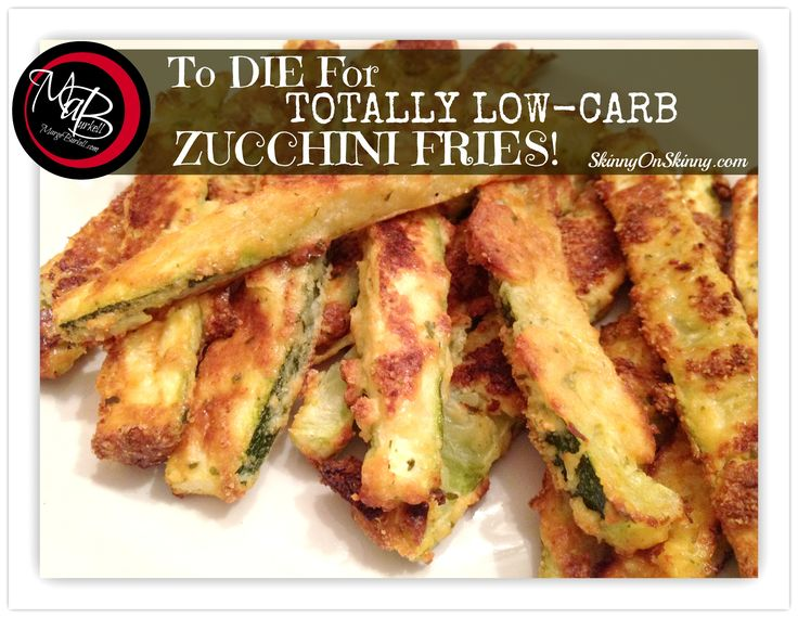 Marge Burkell – Zucchini Fries; Low-Carb Delicious!