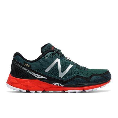 910v3 Trail Gore Tex® Men's Trail Running Shoes - Green/Red/Black (MT910GX3)