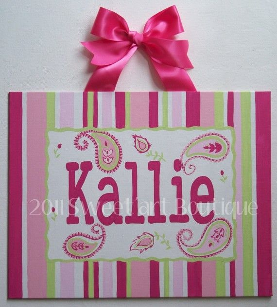 1000 Ideas About Name Wall Art On Pinterest: 1000+ Ideas About Canvas Letters On Pinterest