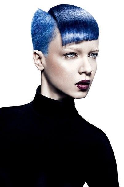 blue hair #hair #hairstyle  #artistichair #avantgarde #avantgardehair #handmade #inspiration #hairinspiration