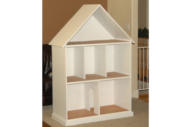 Handmade Barbie / Doll House - Jordan could totally build this.