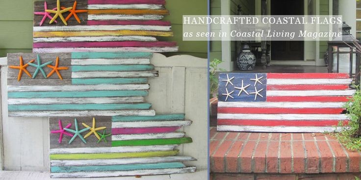 Handcrafted Coastal Flags: https://www.obxtradingroup.com/