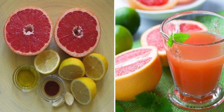 Limpieza de hígado y vesícula biliar con pomelo, limón, ajo, aceite de oliva y cayena. | Vida Lúcida