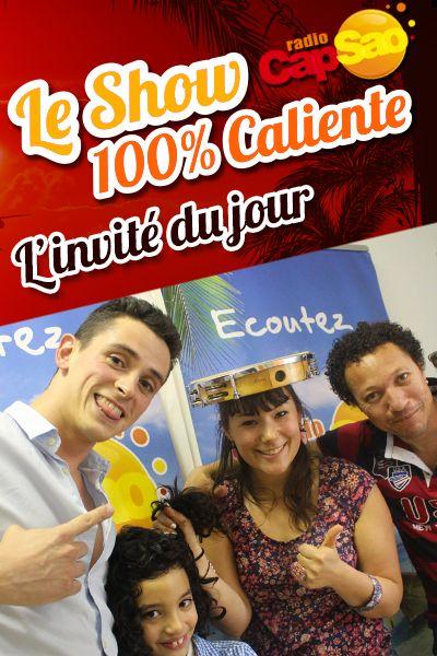 Ils ont mis l'ambiance en direct sur Radio CapSao, Contra-Mestre Boy et son fiston d'amour, Pula Pula à la chemise ouverte ! Pour la promo du Rhône Capoeira Tour !!