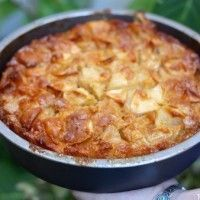 Gâteau aux pommes {moelleux et caramélisé} - Papilles et Pupilles
