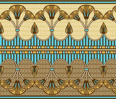 egyptian ornate lily border cjldesigns wallpaper design