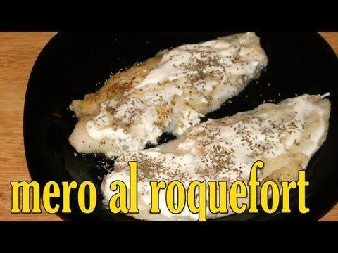 ▶ Mero (Pescado) al roquefort dukan - Receta Fase Ataque - YouTube