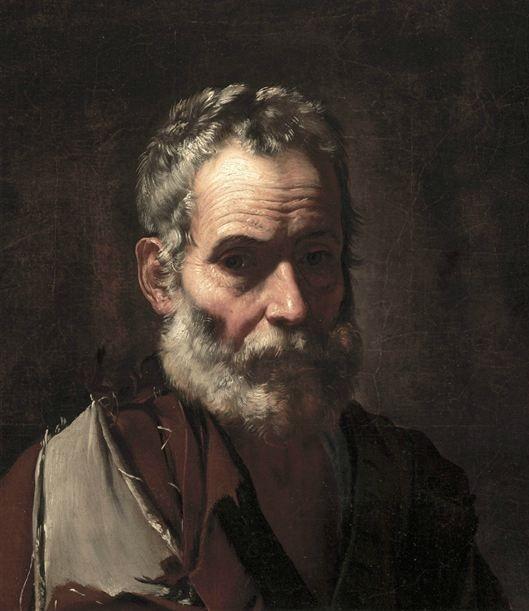 Jusepe de Ribera An Old Man (c.1635) Detroit Institute of Arts