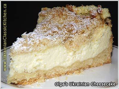 Ukrainian Cheesecake with Crumb Topping (Syrnyk)