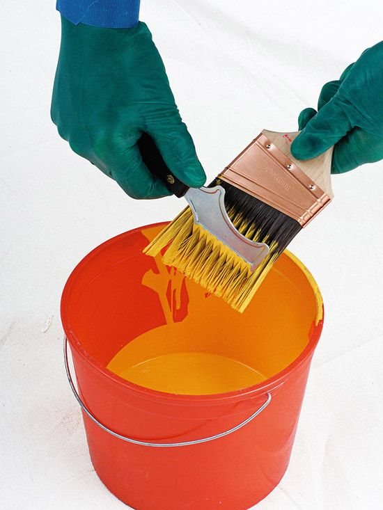 Make clean up a breeze after you paint with our paint brush cleaning tips. Learn how to remove excess paint, what solution to clean them in and how to dry the brushes so you can use them again!