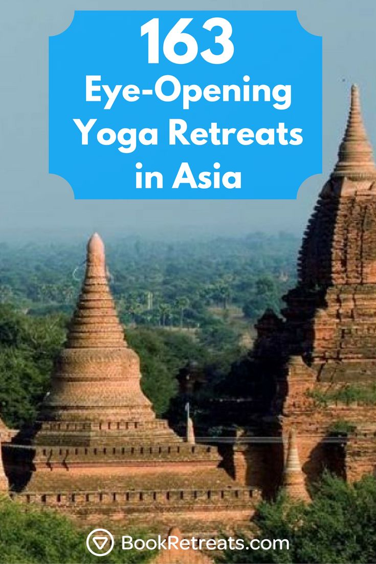 From the tropical beaches of Thailand to the exotic temples of Cambodia, you are bound to have a life-changing experience on holiday in Asia.  #yogaretreats #asia #yoga #travel