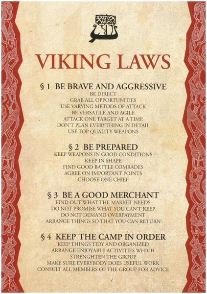 Advice for Vikings
