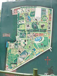 Mysore Zoo Map