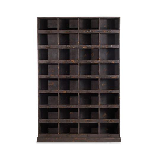 Imani Wooden Locker Shelves - Large