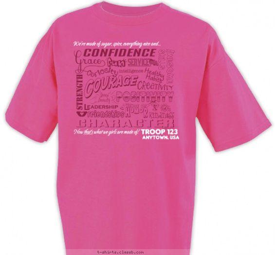 Girl Scout T Shirt Design Ideas Girl Scouts Boy Scout Brownie Scouts Daisy Scouts Shirt Designs Shirt
