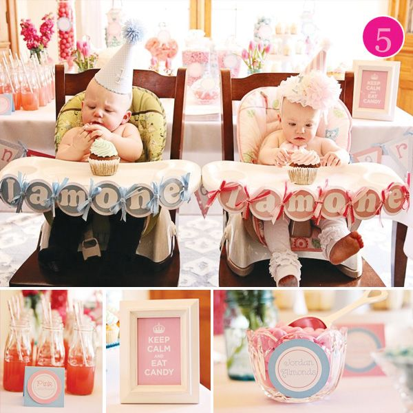 Picture Ideas With Twins: 17 Best Ideas About Twin First Birthday On Pinterest