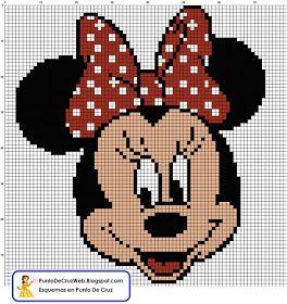 Minnie Mouse free PDF pattern