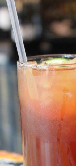 Fat Tuesday Rum Runner - a Florida Keys classic, and great for Mardi Gras! #EmerilsMardiGras