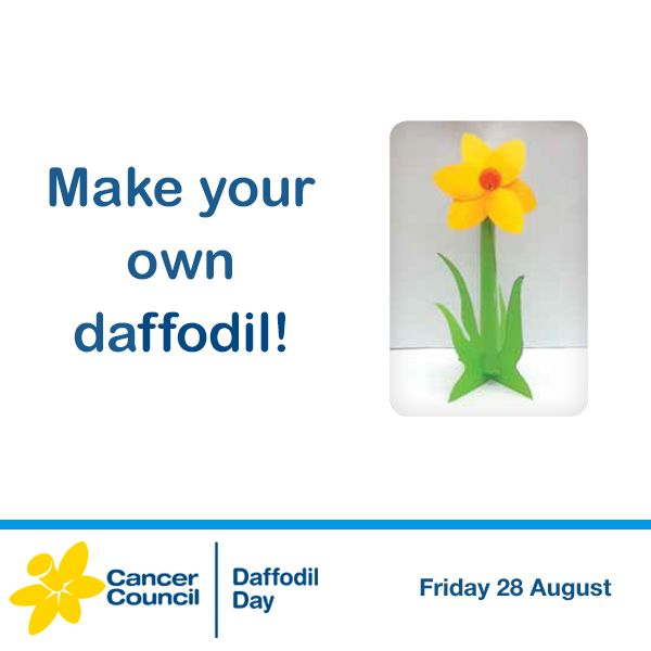 The daffodil is the international symbol of hope for cancer patients. Make your own, for times when a little reminder of hope wouldn't go astray. Download our make a daffodil activity: bit.ly/1N1fnPZ