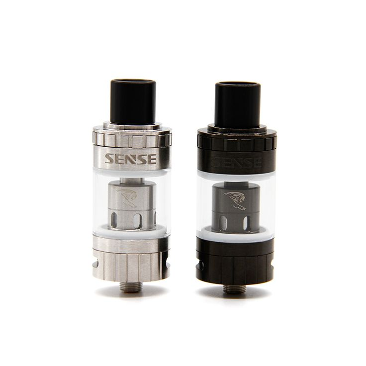 The SENSE BLAZER MINI Sub-ohm tank with 3.6ml e-liquid capacity and hinged-top fill can offer 50-100W power output and comes with 0.4 & 0.6Ohm coils!