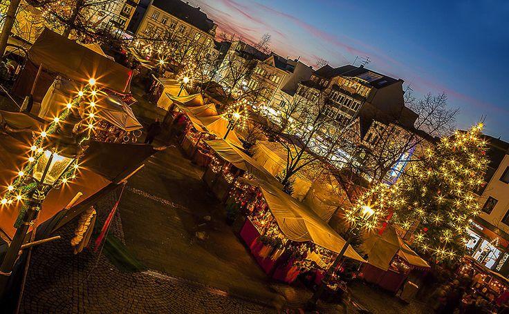 Weihnachtsmarkt in Siegburg (Nordrhein-Westfalen)