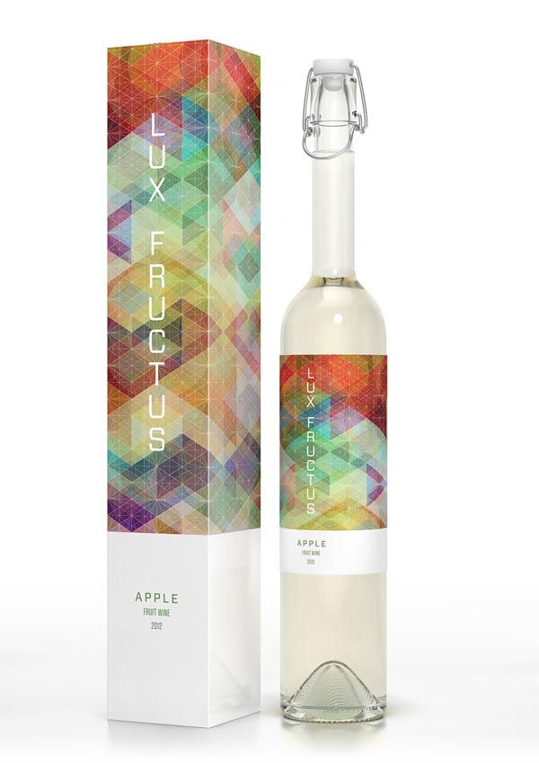 Fruit wine packaging design created by Marcel Buerkle and inspired by Simon C Page.   http://weandthecolor.com/fruit-wine-packaging-design-concept-by-marcel-buerkle-and-simon-c-page/16953
