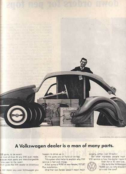 Vw Vintage Car Advertisements of the 1960s (Page 14)