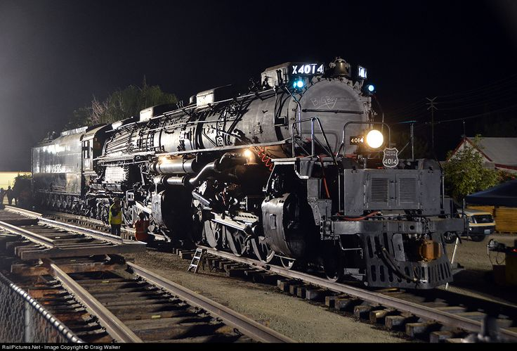 Union Pacific Big Boy 4014, Pomona Fairgrounds, Pomona, CA, Jan., 26, 2014