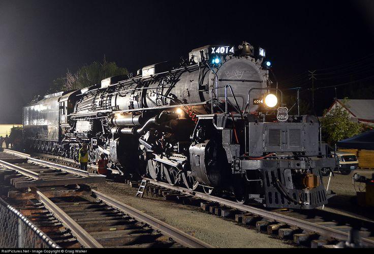 Union Pacific Big Boy 4014, Pomona Fairgrounds, Pomona, CA, Jan., 26, 2014