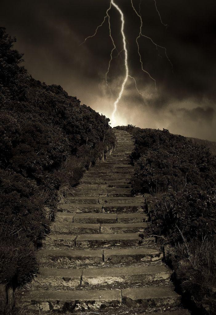 Authur's Steps,Edinburgh, Scotland