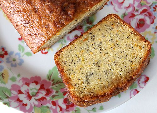 Orange Drizzle Cake with Poppy Seeds (Vegan / Dairy-free / Egg-free) from @goodstuffsharon for #SumaBloggersNetwork