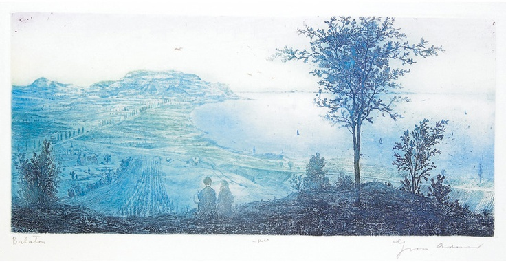 Arnold Gross, Balaton