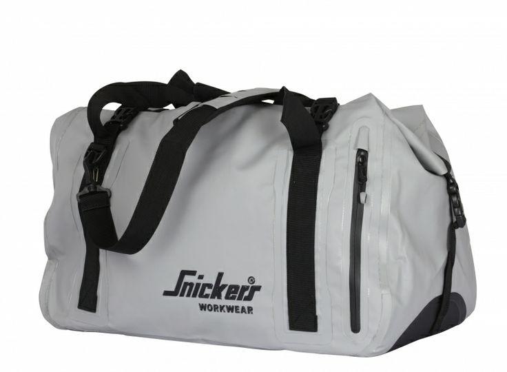 Vandtæt og robust Snickers duffel bag taske, askegrå (9609-0700) - Diverse - BILLIG-ARBEJDSTØJ.DK