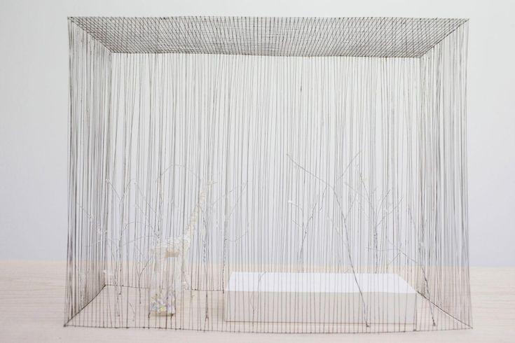 Arc-en-Rêve Centre d'Architecture, Galerie d'Exposition, Bordeaux, Exposition « Petit? Grand? L'Espace Infini de l'Architecture - Junya Ishigami » © Junya.ishigami+associates