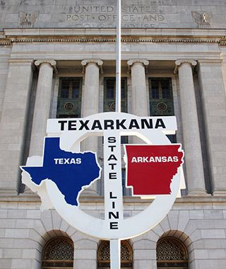 Quirkiest Post Offices: Texarkana