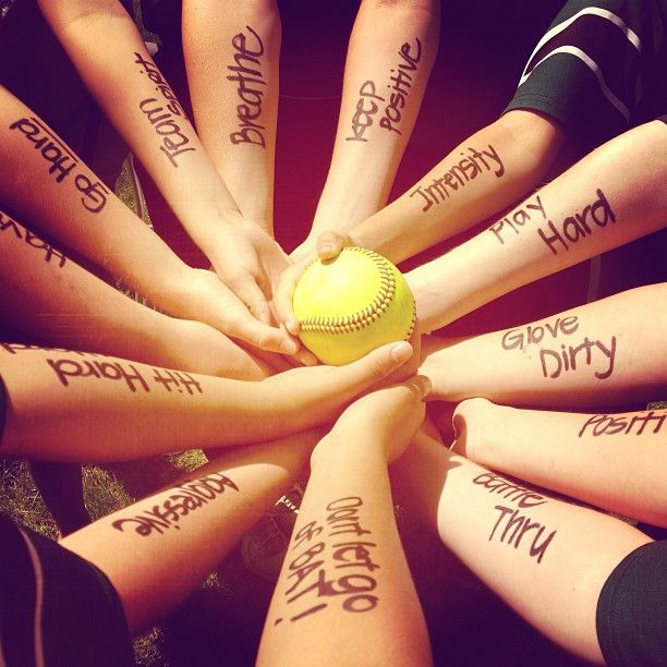 Softball! There's nothing soft about it! Play the game you ... Teamwork Quotes For Softball